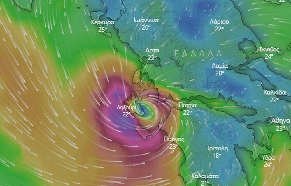 """Τα μέτρα στήριξης στους πληγέντες από τον κυκλώνα """"Ιανός"""""""